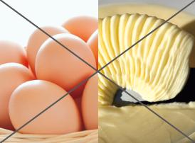 卵、マーガリン、乳化剤、イーストフードを使用しないイメージ画像
